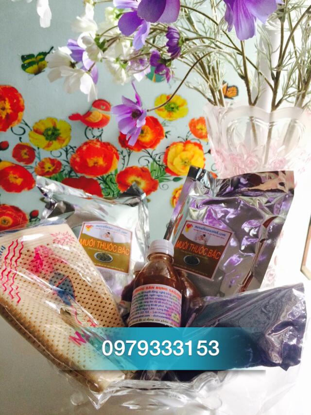 Bán muối thảo dược thuốc bắc săn bụng sau sinh tại Quận Tân Bình